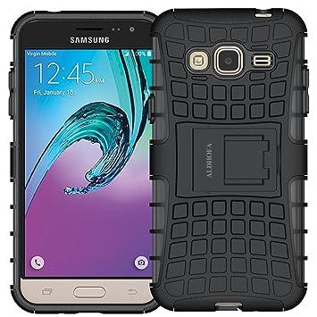 ALDHOFA Samsung Galaxy J3 2016 Funda (5.0 Pulgadas) Silicona + TPU ...