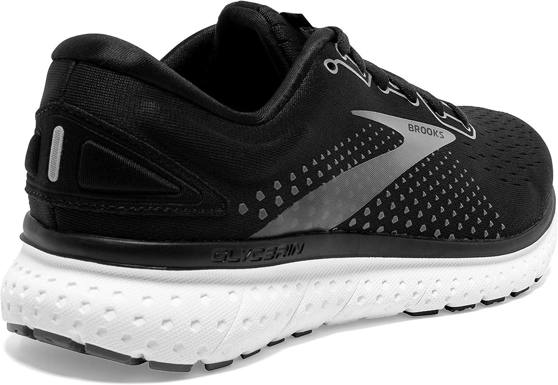 Brooks Glycerin 18, Zapatillas para Correr para Mujer negro, blanco, (Black/Pewter/White) kUdeo