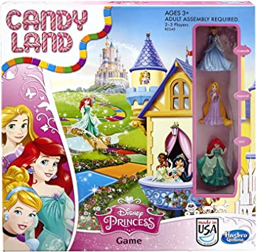 Juego de mesa Candy Land Disney Princess Edition (exclusivo de Amazon): Amazon.es: Bricolaje y herramientas
