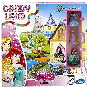 Juego de mesa Candy Land Disney Princess Edition (exclusivo de ...