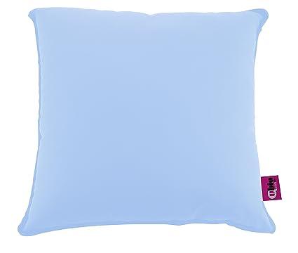 ubio cojín saniluxe cuadrado azul cielo 44 x 44 cm): Amazon ...