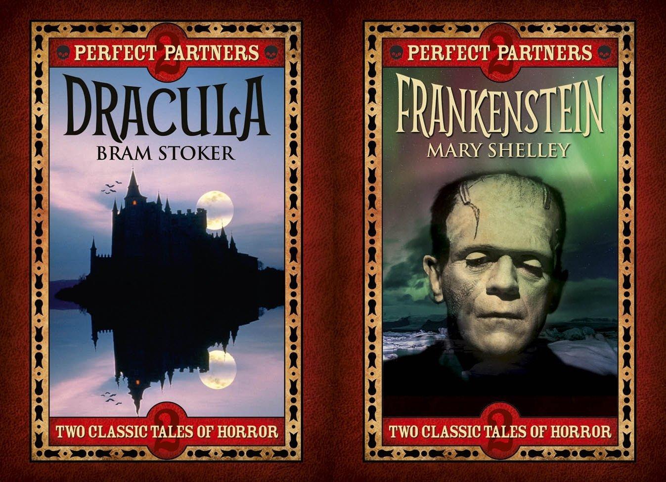 Dracula & Frankenstein: Slip-case Edition (Perfect partners): Bram Stoker,  Mary Shelley: 9781784282912: Amazon.com: Books