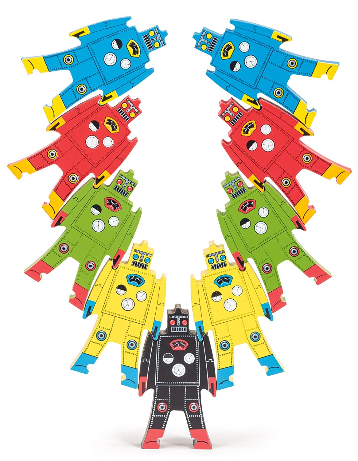 Wooden Stacking Robots