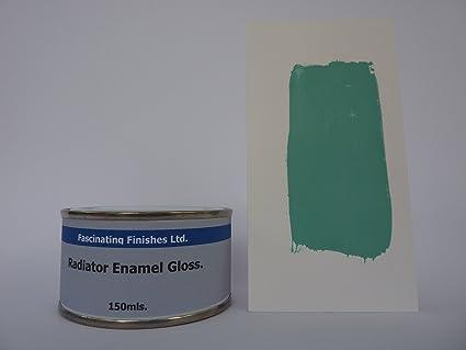 1 x 150 ml azul brillante radiador pintura resistente al calor