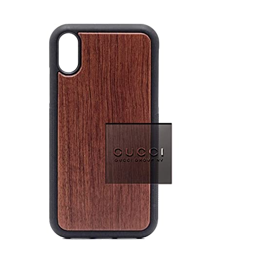 the latest 422dd 25a53 Amazon.com: Logo Gucci Group - iPhone XR Case - Rosewood Premium ...