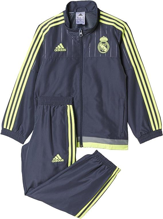 adidas Survêtement Enfant Football Real Madrid Club de pr I