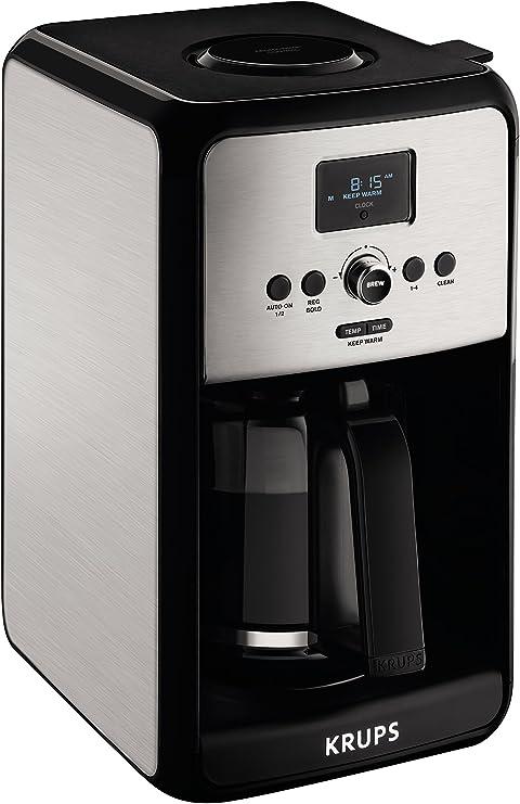 Amazon.com: KRUPS Savoy - Cafetera digital programable con ...