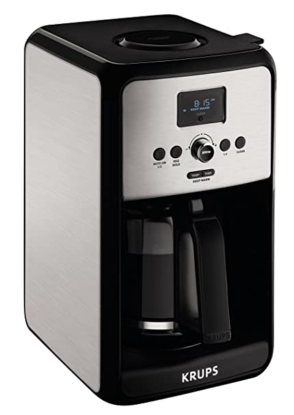 Amazoncom Krups Programmable Digital Coffee Maker Coffee Machine
