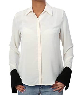1335d8b1089b7 DI SHE by SMC Women s Blouse - white - 8  Amazon.co.uk  Clothing