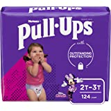 Pull-Ups Learning Designs Girls' Training Pants, 2T-3T, 124 Ct