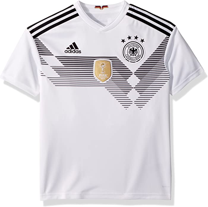 adidas Youth Germany 2018 Home Replica Jersey