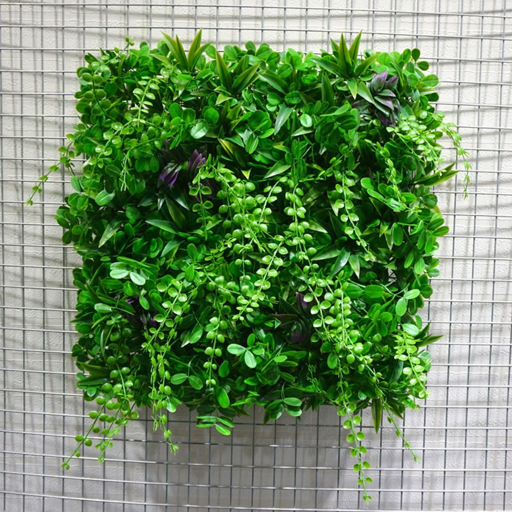 WENZHE 人工 フェイクアイビー 緑の植物のシミュレーション 壁掛け式 背景壁 暗号化 緑の植物 ホーム インドア アウトドア 装飾品、 A/B、 2サイズ (色 : B, サイズ さいず : 8 pieces) B07D8QQX5B B 8 pieces