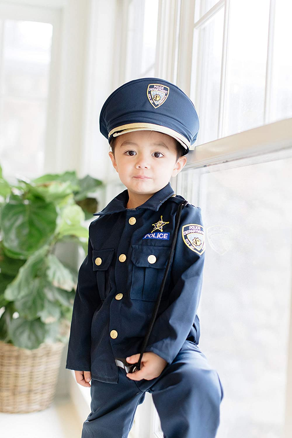 Children/'s Deluxe SWAT Police Officer Fancy Dress Costume size 5-8 Yrs Play Set