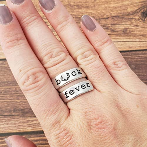 Which Hand Wedding Ring Female.Amazon Com Buck Fever Ring Female Hunter Gift Woman Hunting