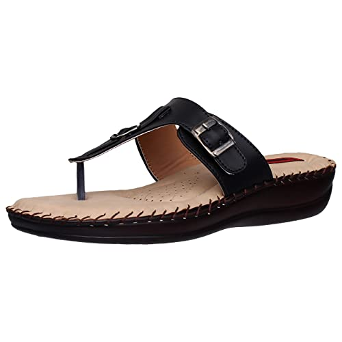 23614a1fea37 1 WALK Comfortable DR Sole Women-Flats Fashion Sandals Fancy Home and Party