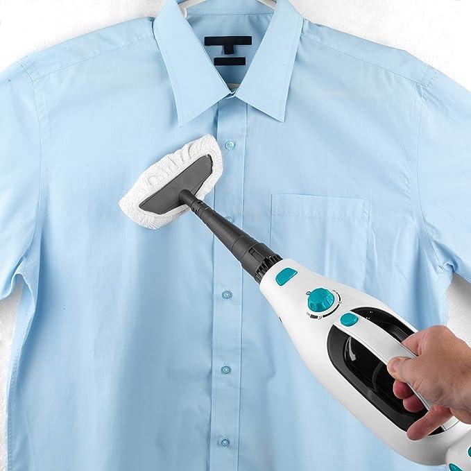 Beldray BEL0698 12 in 1 Microfibre Brush Garment Window Flexi Steam Cleaner