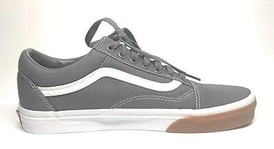 4f525343ee2 Vans OLD SKOOL Gum Bumper Pewter Women s Shoes 8.5 - Men 7