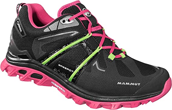 Mammut MTR 141 Base - Zapatillas trail running para mujer - Low, GTX rosa/negro Talla 40 2/3 2015: Amazon.es: Deportes y aire libre
