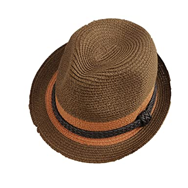 537ba8b0095 Attack Summer Couple Sun Visor Men and Women Mixed Colors Straw Hat Hat,