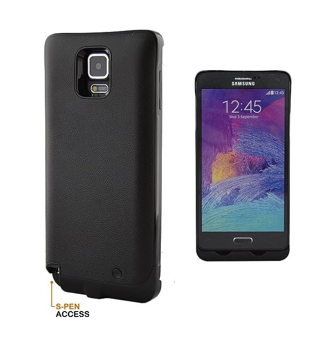 Samsung Galaxy Note 4 Caso con S lápiz Acceso 4500 mAh ...