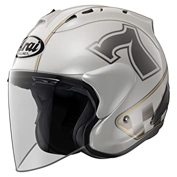 Casco Arai sz-ram X Cafe Racer, Color Blanco M Blanco