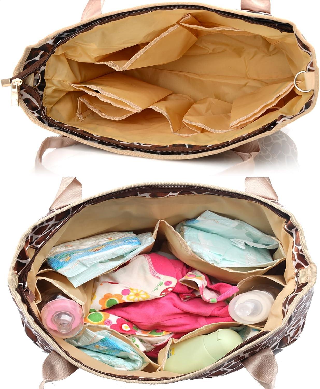 Babyhugs/® Design Mignon Ensemble 3/pi/èces sac /à langer sac /à langer tapis /à langer inclus