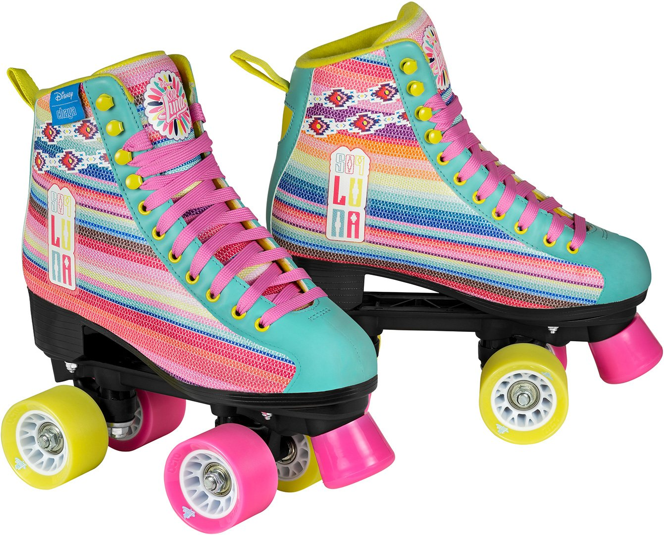 Disney Luna LTD Patines EDICIÓN Patines Infantiles para niños de Color Rosa niñas: Amazon.es: Deportes y aire libre