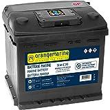 Batterie marine de démarrage sans entretien - Batterie bateau Orangemarine