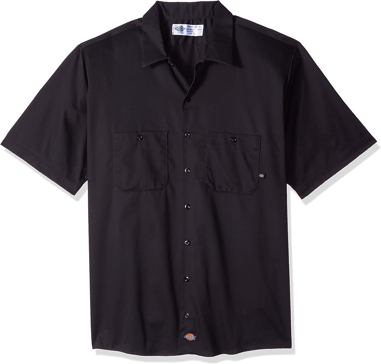 Dickies Industriel Shirt /à manches courtes de travail en coton LS307