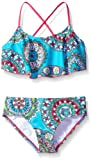 Amazon Price History for:Kanu Surf Girls' Jasmine Flounce Bikini Beach Sport 2-Piece Swimsuit