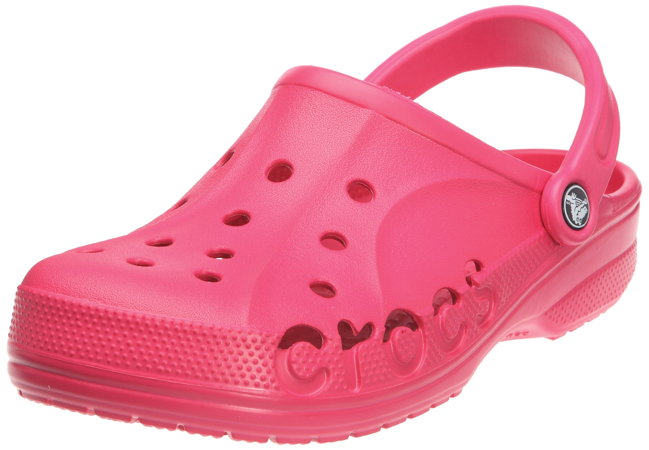crocs Unisex Baya Clog, Raspberry, 4 M (D) US Men / 6 M (B) US Women