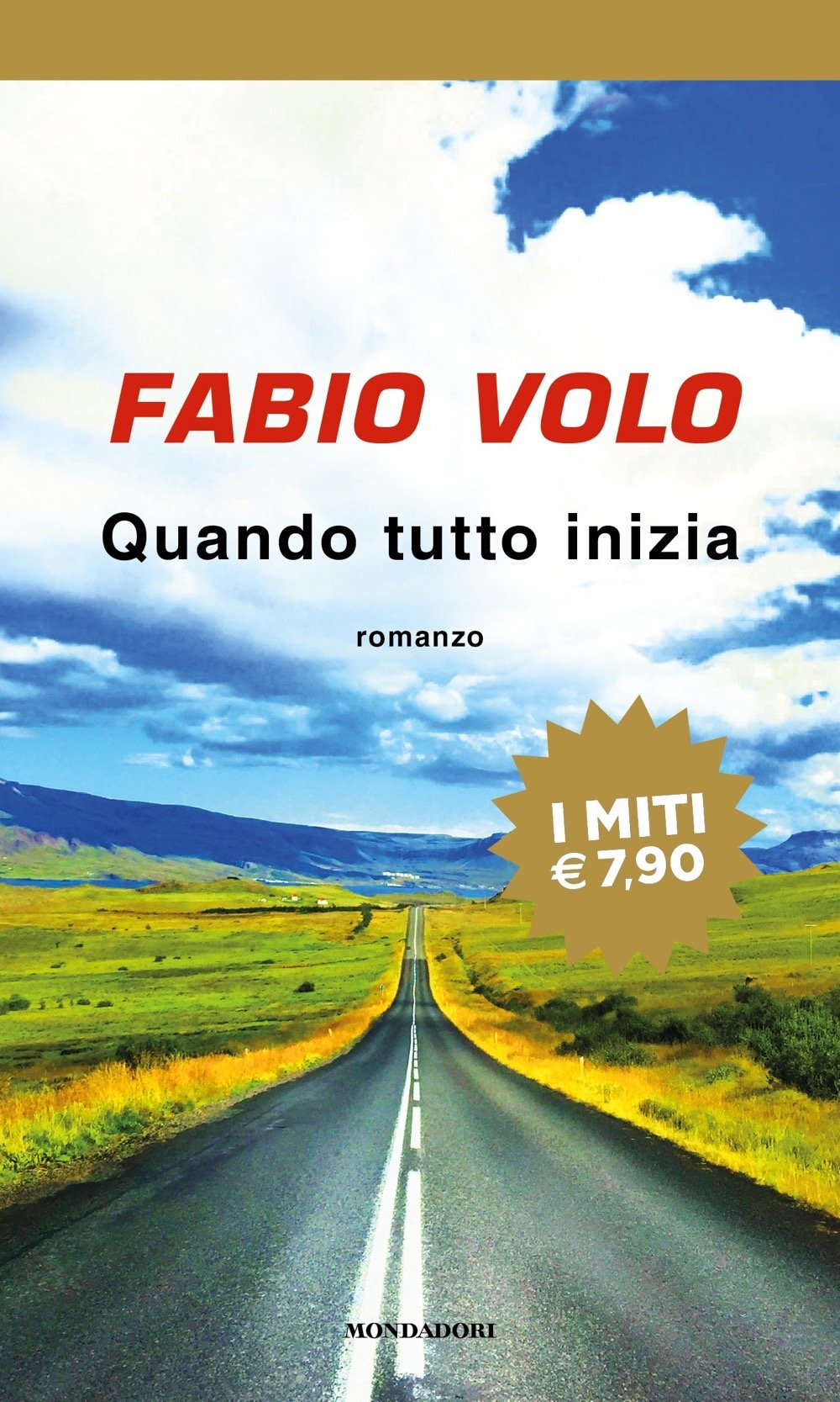 Libri di fabio volo - quando tutto inizia (italiano) copertina flessibile 978-8804704423