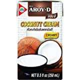 Aroy-D Pure Coconut Cream, 8.5 Fluid Ounce (Pack of 6)