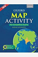 Oxford Map Activity for Competitive Exams - Indian Geography Paperback
