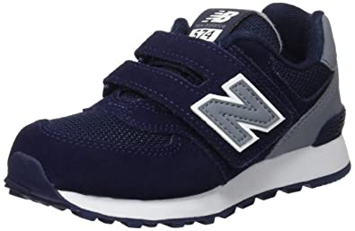 New Balance 574 Hook and Loop High Visibility, Sneakers Basses Mixte Enfant