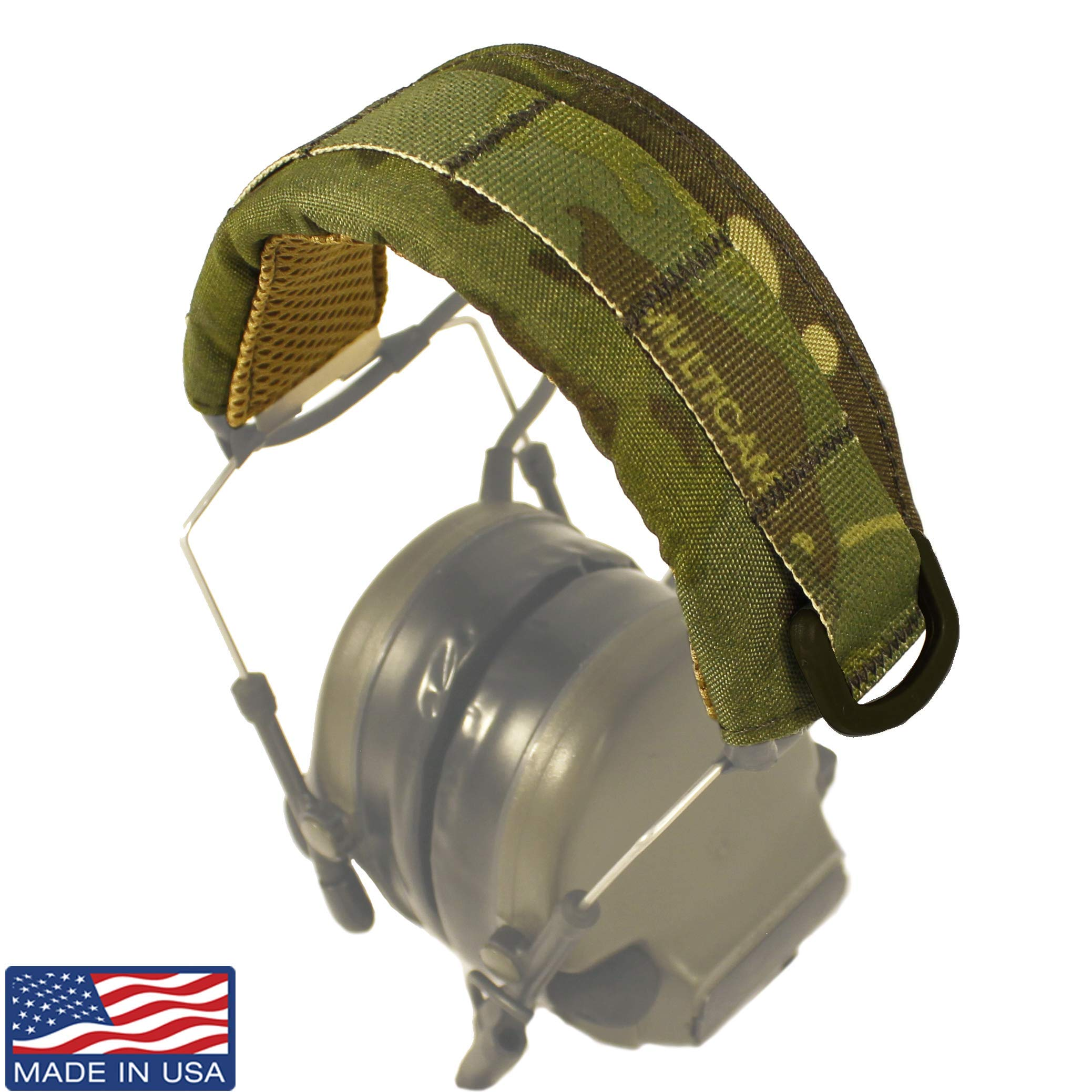 U.S. Tactical Sewing USTS Advanced Modular Headset Cover (Multicam Tropic) by U.S. Tactical Sewing