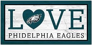 Fan Creations NFL Philadelphia Eagles Unisex Philadelphia Eagles Love Sign, Team Color, 6 x 12