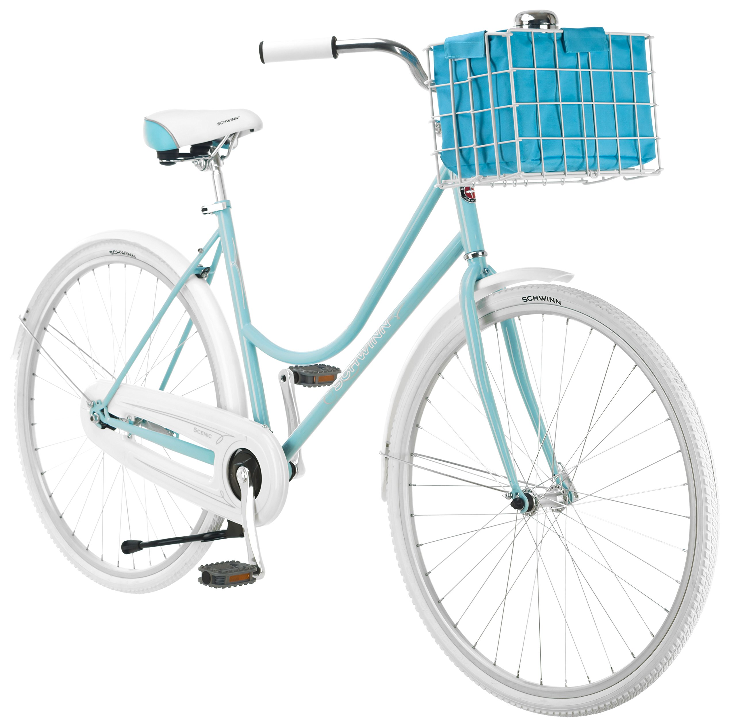 Schwinn Women's Scenic 700c Dutch Bicycle, Light Blue, 16-Inch Frame