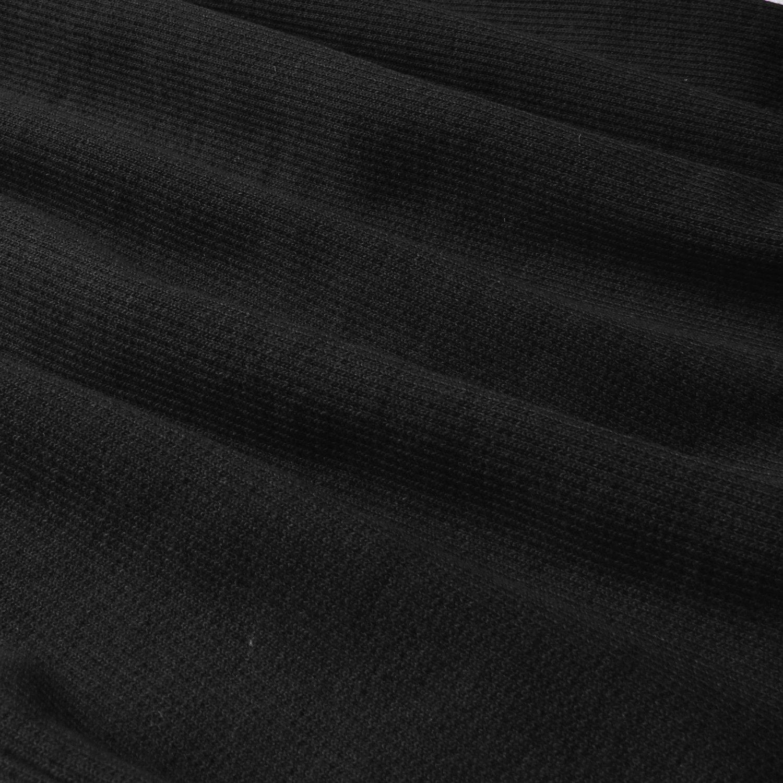 Goddess Area Women\'s Classic Slim Fit Long Sleeve Bodycon Midi Pencil Sweater Dress (A1, Black1)