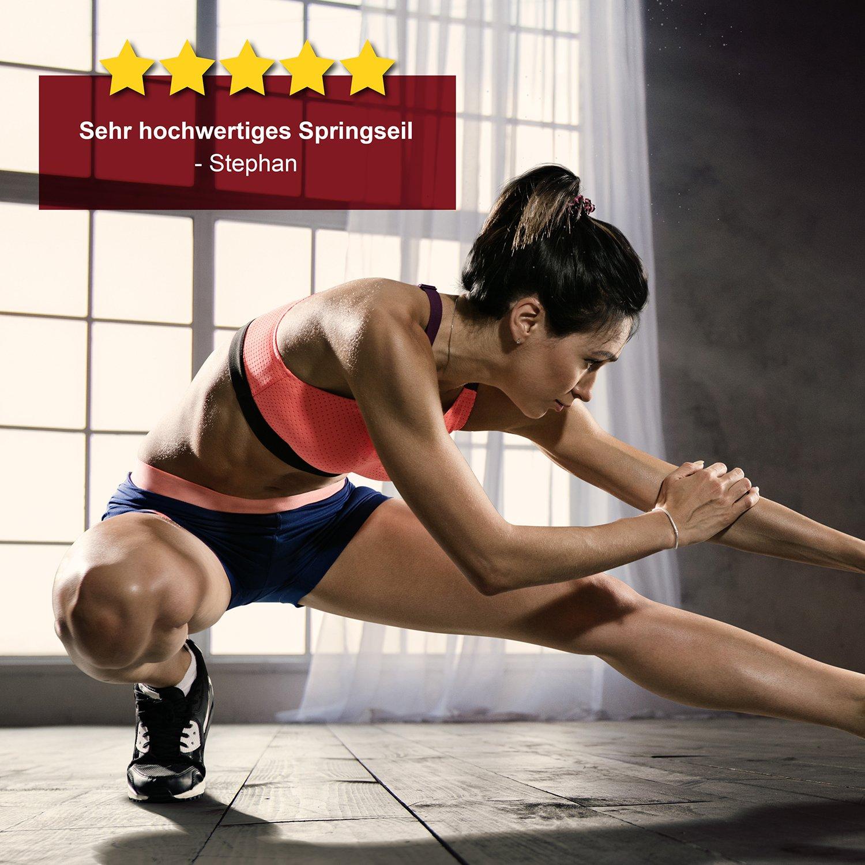 EVEREST FITNESS Corda per Saltare Professionale Giunto sferico Corda High Speed per Atleti