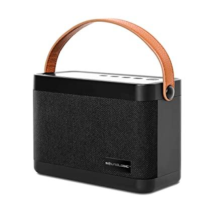 Design On Stock Bank Bloq.Soundlogic Bloq 12 Watts Portable Bluetooth Wireless Stereo Speaker With Hd Sound Built In Bass Booster And Fm Radio Aux Micro Sd Card Slot Usb Port