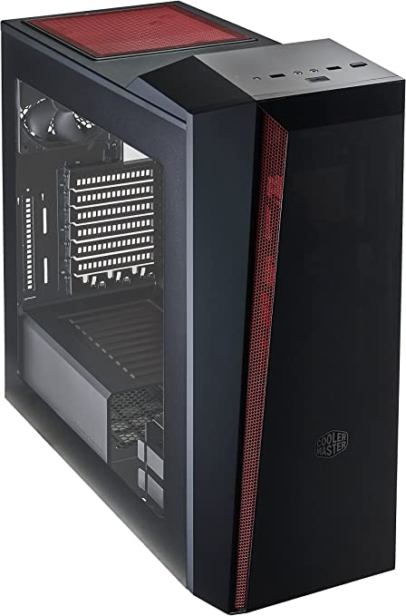 Cooler Master MasterBox 5t Midi-Tower Negro, Rojo - Caja de ...