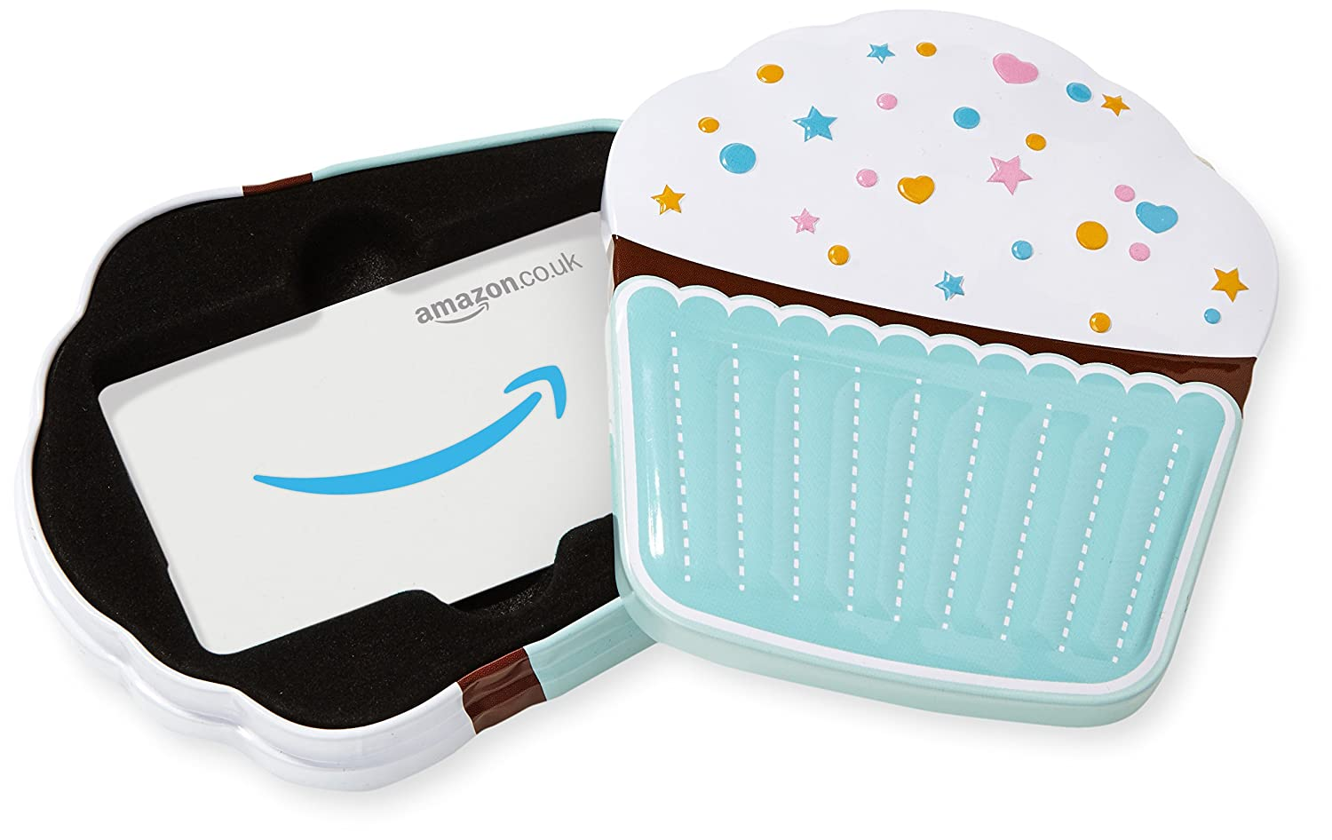 Amazon.co.uk Gift Card for Custom Amount in a Cupcake Tin - FREE One-Day Delivery Amazon EU S.à.r.l. VariableDenomination