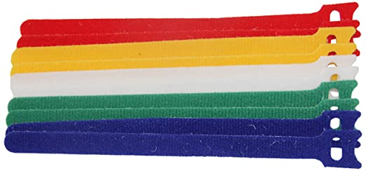 26 opinioni per Electraline 60700 Fascette di Velcro, stringicavo, avvolgicavo, a strappo, per