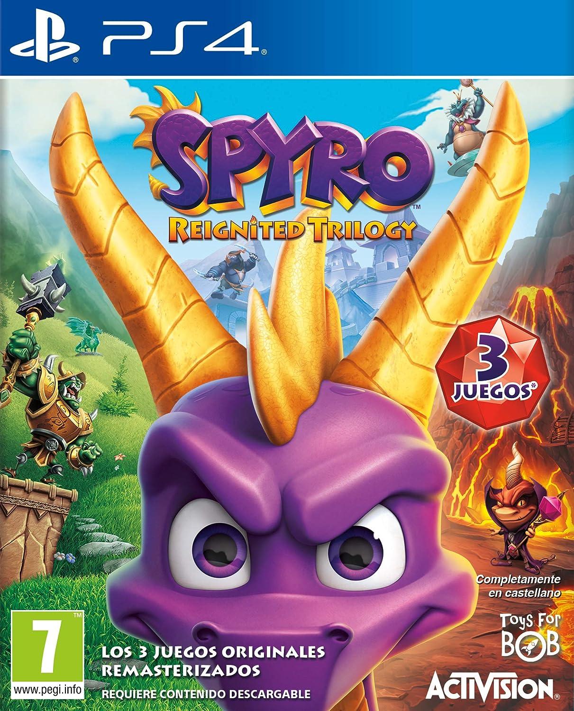 Juego de ps4 Spyro: Reignited Trilogy