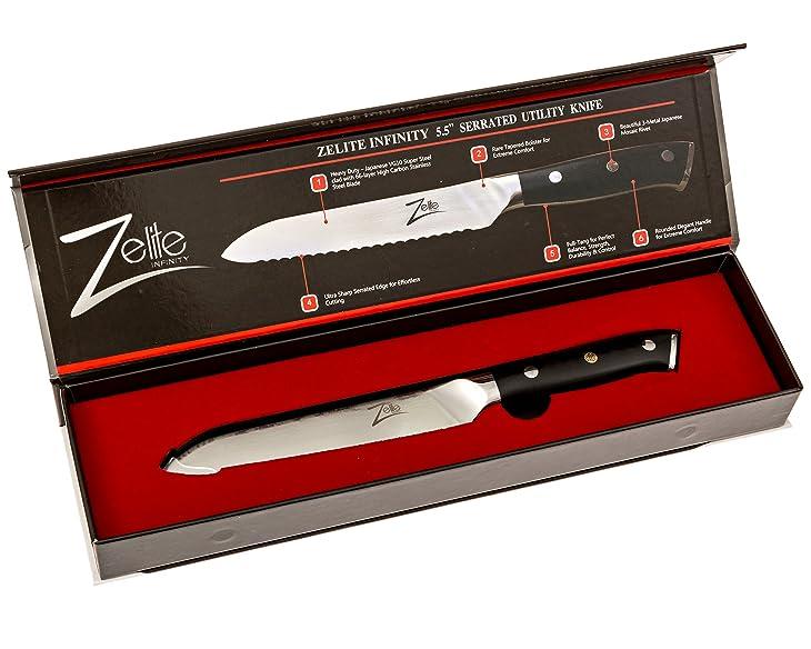 ZELITE-INFINITY-Serrated-Utility-Knife