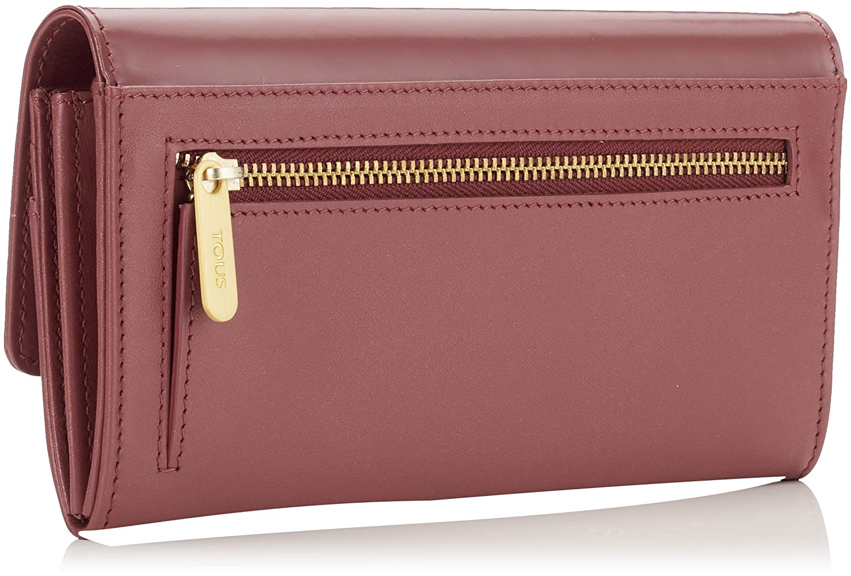 Tous Billetera Mediana Rossie, Cartera para Mujer, Rojo (Granate) 3x10x19 cm (W x H x L): Amazon.es: Zapatos y complementos