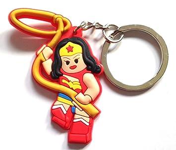 Lego Movie Wonder Woman Llavero de PVC de alta calidad ...