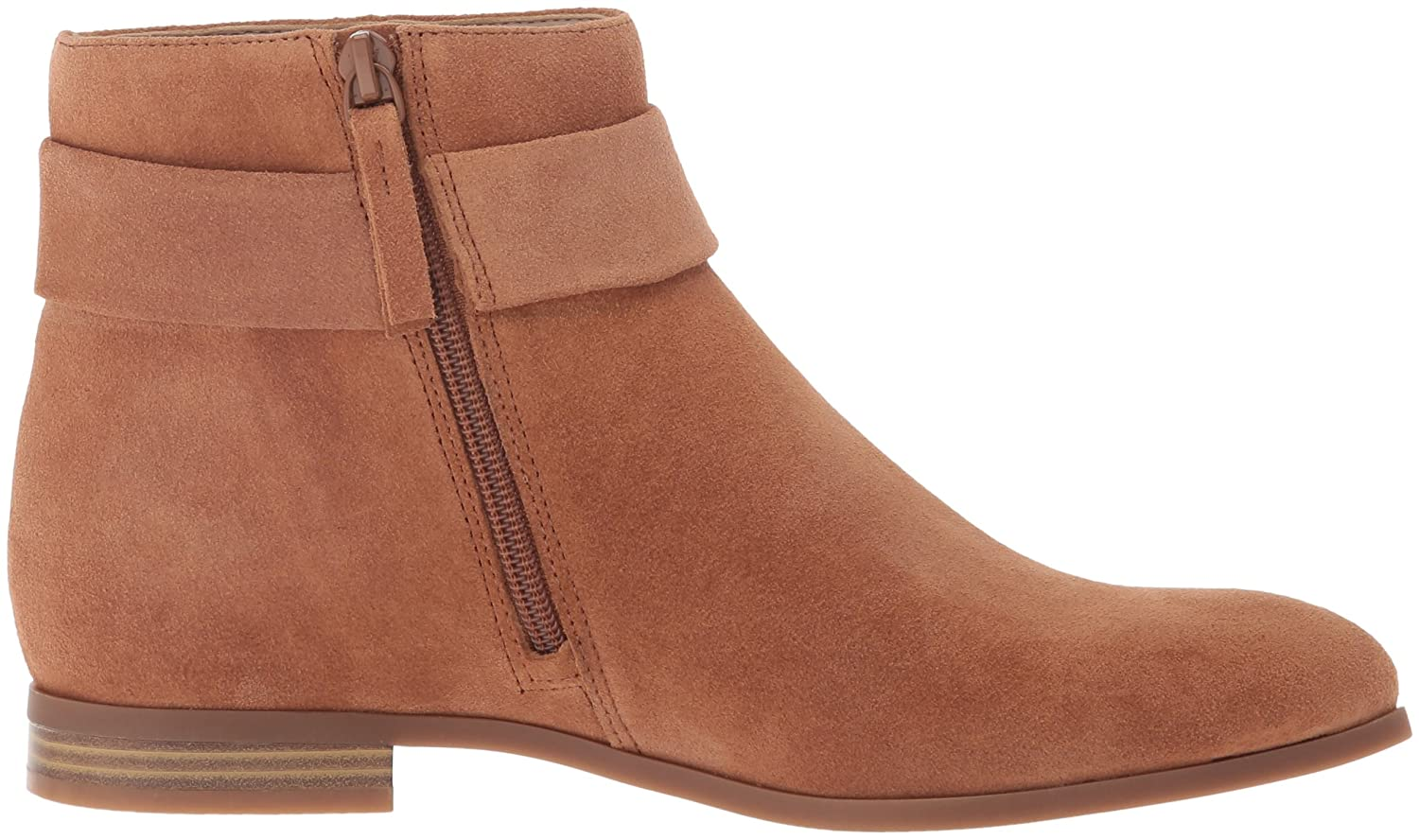 Nine West Women's Objective Suede Boot B01EZQ0A4K 7.5 B(M) US|Natural