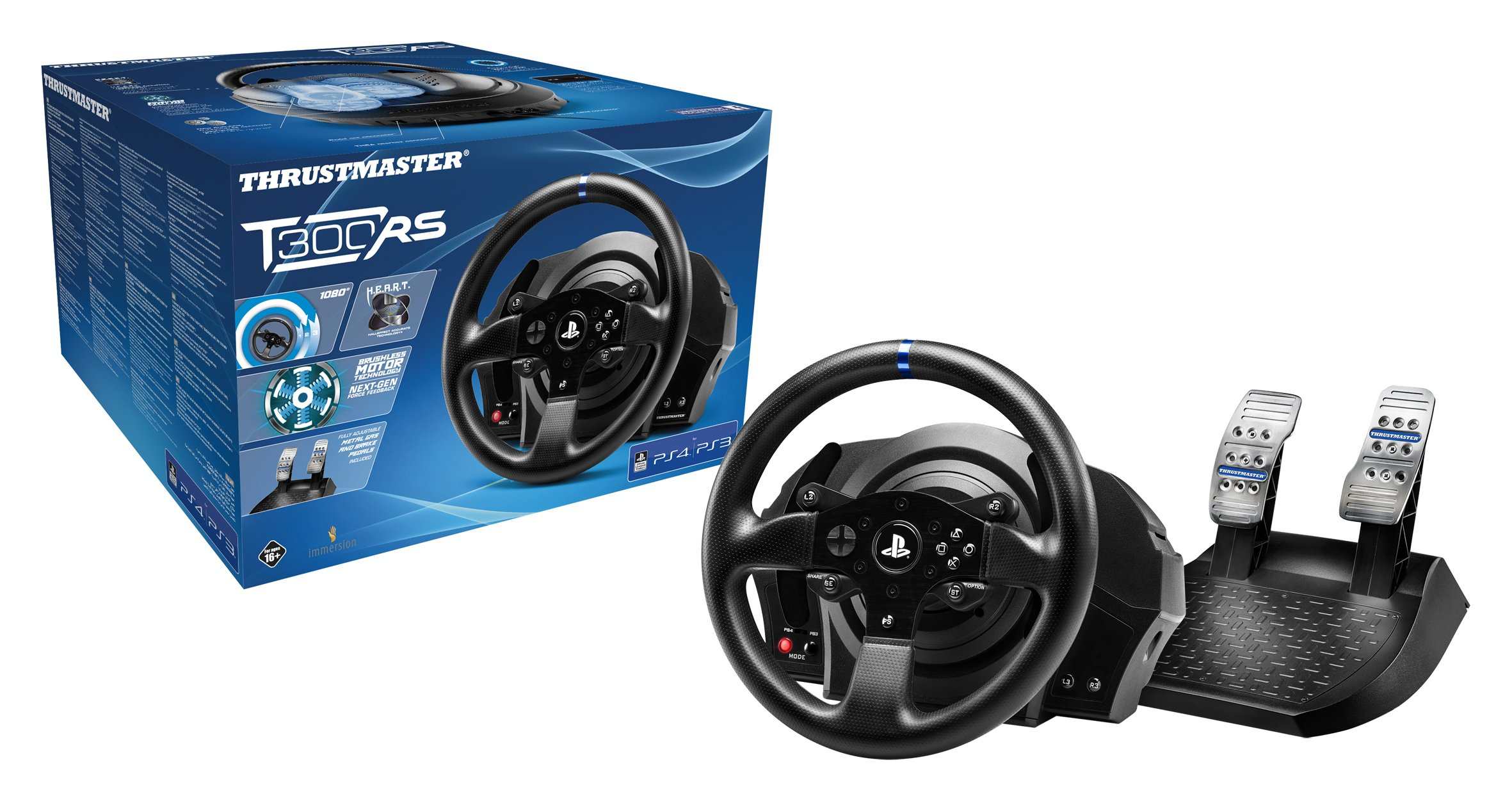 Thrustmaster   T300RS Officially Licensed PS4/PS3 Force Feedback Racing Wheel by ThrustMaster (Image #4)